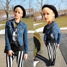 By Samii Ryan Ear Cuff, Aeropostale Jacket, Karmaloop Leggings, By Samii Ryan Necklace, Target Boots | New Year, New Hair (by Samii Ryan) | LOOKBOOK.nu