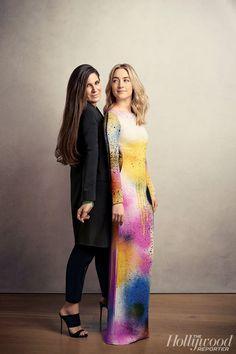 Elizabeth Saltzman and Saoirse Ronan | Photo by Rebecca Miller