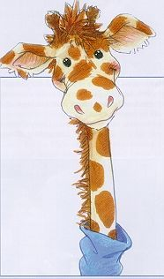 suzy zoo giraffe - Google Search Zoo Giraffe, Cute Giraffe, Animal Sketches, Animal Drawings, Doodle Drawings, Cute Drawings, Baby Art, Zebras, Nursery Art