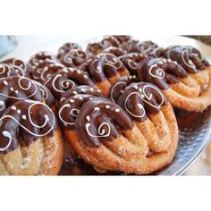 {Elephant Ears dipped in Chocolate} ▫️▪️ #Padgram