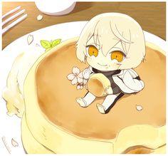 刀剣乱舞 膝丸「パンケーキを食べようとしたら兄者がいた!!!」