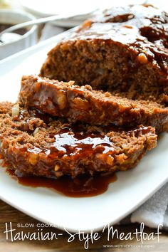 Slow Cooker Hawaiian-Style Meatloaf | www.motherthyme.com