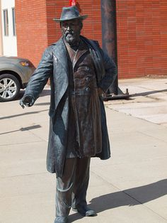 James Garfield Statue, Presidents Tour, Rapid City, South Dakota - 20th President of the United States of America
