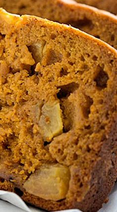 Apple Pumpkin Bread (No Yeast)