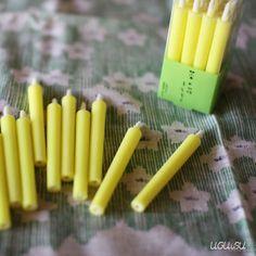 Japanese Nanohana Vegetable Oil Candles