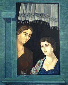 Χαρατσίδης Σάββας-Δύο γυναικείες μορφές