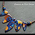 Suite colliers colorés