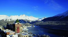 The Palace Hotel, St. Moritz....with the Heckers