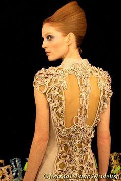 Back fashioned dress