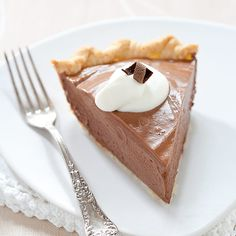 French Silk Chocolate Pie (Cook's Country)
