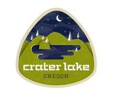 Crater Lake by Josh Balleza for Everywhere project.