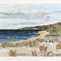 Dune Collage 2015 Quilts by Ann Loveless, Michigan, USA