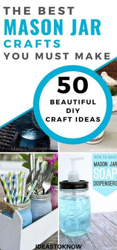 50 Best Mason Jar Crafts To Make And Sell