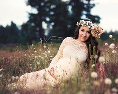 5563236f04dc8 Tiffany Gown • Lace Maternity Dress • Maternity Gown • Maxi Dress • Senior Photo  Shoot • Bridesmaid Dress
