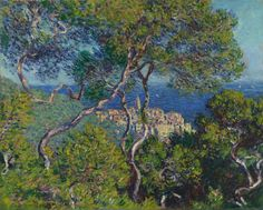 Bordighera, Monet, Art Institute of Chicago