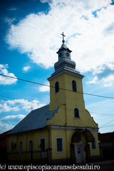 "Romanian Orthodox Church ""Holy Archangels Michael and Gabriel"" from Cireșa - Oțelu Roșu, Caraș-Severin County, Romania. The Church was built in 1821. Romanian Orthodox Diocese of Caransebeș."