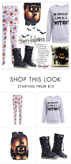 """Rosegal Halloween Giveaway"" by water-polo ❤ liked on Polyvore featuring Arco and Halloweenparty"