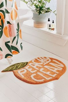 Dream Home Interior Peachy Clean Bath Mat.Dream Home Interior Peachy Clean Bath Mat Decor, Home Diy, First Home, House Styles, Inspiration, House Design, Sweet Home, Home Decor, Apartment Decor