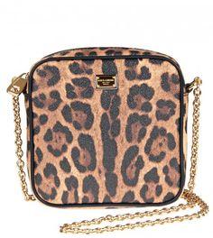 Dolce & Gabbana Leopard Print Leather Mini Bag from www.profilefashion.com