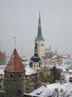 Winter in Tallinn | Estonia (by David Jones)