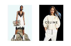 Karly Loyce and Regitze Christensen for Celine's spring 2016 campaign. Photo: Juergen Teller
