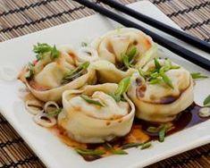 Recette Raviolis vapeur aux crevettes à la vietnamienne Chicken, Food, Steamed Dumplings, Ravioli Recipe, Steamer, Dish, Essen, Meals, Yemek