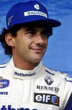 March 1994 Senna at his home grand prix, in Brazil.