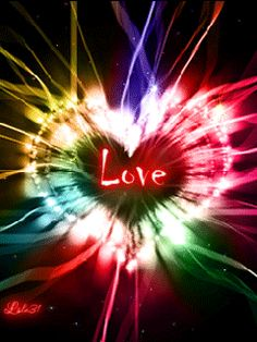 Love is a current of infinite energy, flowing and expanding everywhere.