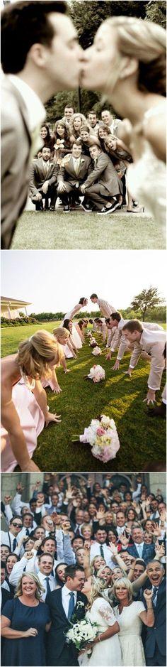 Wedding Ideas»20 Fun Wedding Day Group Photo Ideas That Will    Outshine Traditional Photos