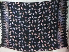 double process sarong fishes on black sarong apparel fashion dresses $5.25 - http://www.wholesalesarong.com/blog/double-process-sarong-fishes-on-black-sarong-apparel-fashion-dresses-5-25/