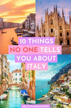 How to Avoid these Italy Travel Mistakes and Have a Spectacular Italian Vacation 10 Italy travel mistakes that no one tells you about and that you must avoid if you want to enjoy your next vacation to Italy/ Italy Travel Tips, Europe Travel Guide, Travel Packing, Travel Plane, Budget Travel, Travel Photographie, Couple Travel, Italy Destinations, Belize Destinations