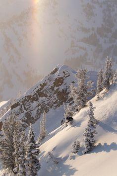 #skiing #mountain #snow