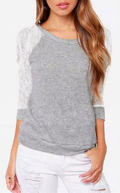 Cupshe Moonlight Lace Cutout Top