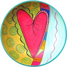 2014 New Heart Bowl by Double Creek Pottery   Sticks Furniture, Home Decorative Accents