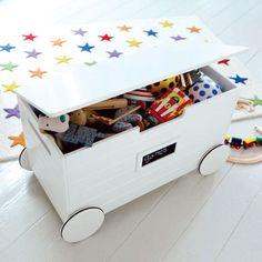 Wheeled Toy Box