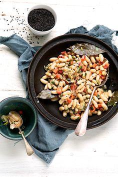 Saveurs Végétales - Salade d'hiver aux haricots blancs
