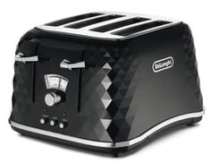 De'Longhi Brillante Toaster Cooking Appliances, Kitchen Appliances, Modern Toasters, Best Waffle Maker, Electric Toaster, Stainless Steel Toaster, Sandwich Toaster