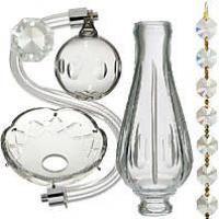 Crystal Chandelier Parts Prisms Antique Lamp Supply Crystal Chandelier Replacement Glass Lamp Shades Lamp Parts