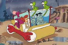 The Flintstones - Flintstones Windshield Wiper by Hanna-Barbera Limited Editions presented by World Wide Art Good Cartoons, Famous Cartoons, Classic Cartoons, Turner Classic Movies, Classic Tv, William Hanna, Yabba Dabba Doo, Today Cartoon, Funny Blogs
