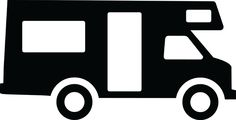 Motor Home, Silhouette | ClipArt ETC