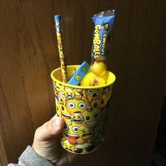 Party Favors:) Forget the baggy of goodies, use a $1 cup from Walmart or dollar store that can be used over and over. Just fill it with goodies and your guests will love it.
