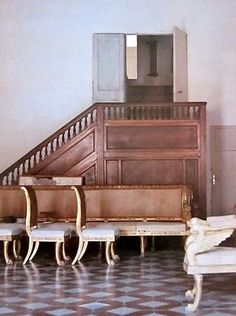 Cy Twombly's home in Rome. Photographs by Horst P. Horst, 1966.