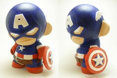 Marvel Titan Hero Series Captain America Classic Marvel Titan Hero ********* action figures with articulation ***** Create Titan-sized Polymer Clay Figures, Polymer Clay Miniatures, Fimo Clay, Polymer Clay Art, Clay Projects, Clay Crafts, Arte 8 Bits, Marvel Avengers, Tv Movie