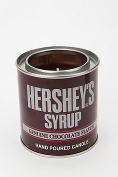 Hershey's Syrup Tin Candle - Brown -..