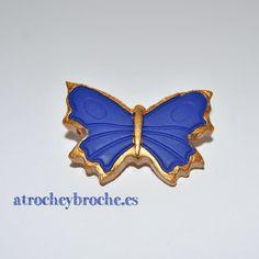 Broche de mariposa de arcilla polimérica #polymerclay #polyclay