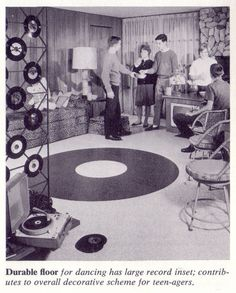They can keep their home theatres - I want a Record Room <3