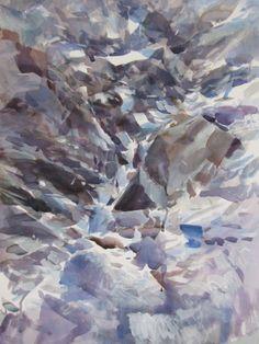 Paper, 2012, watercolours, cm 70x50