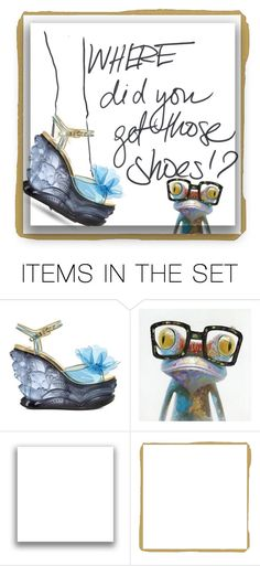 """""""Where did you get those shoes!?"""" by easy-dressing ❤ liked on Polyvore featuring art, polyvoreeditorial and polyvoreart"""