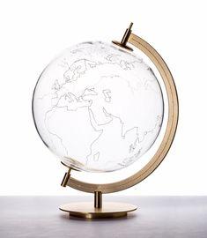 Coexist - glass globe globe art, map globe, decorative accessories, home ac