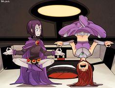 ❤️ TEEN TITANS!!! Raven and Starfire